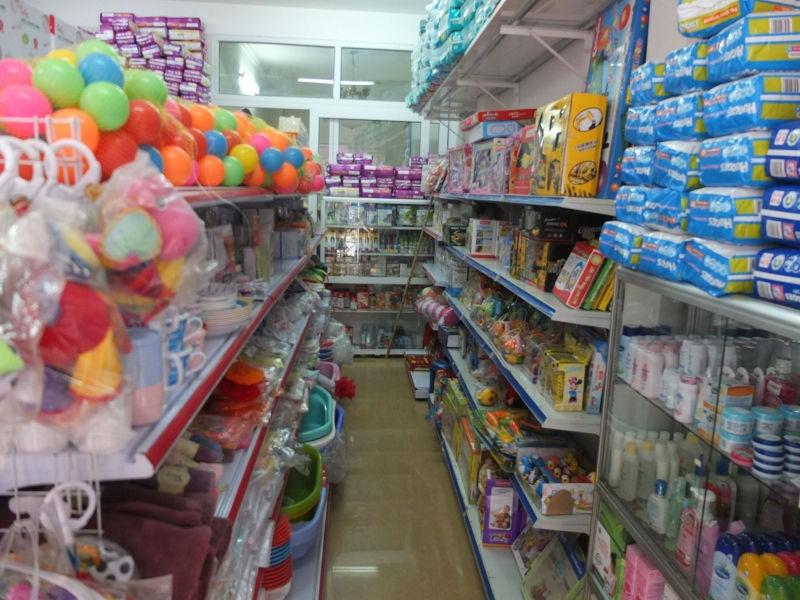 Các sản phẩm được bày bán tại Shop trẻ thơ