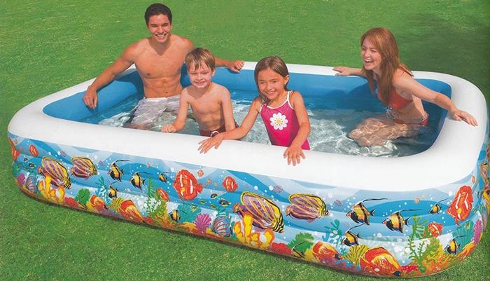 Bể bơi phao gia đình của Shop trẻ thơ