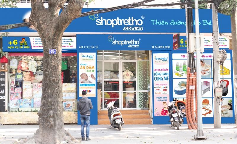 Shoptretho - Nơi trao gửi thông điệp yêu thương cho con yêu của bạn