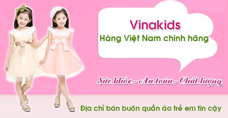 Vinakids -  chuyên buôn bán thời trang trẻ em Việt Nam chính hãng