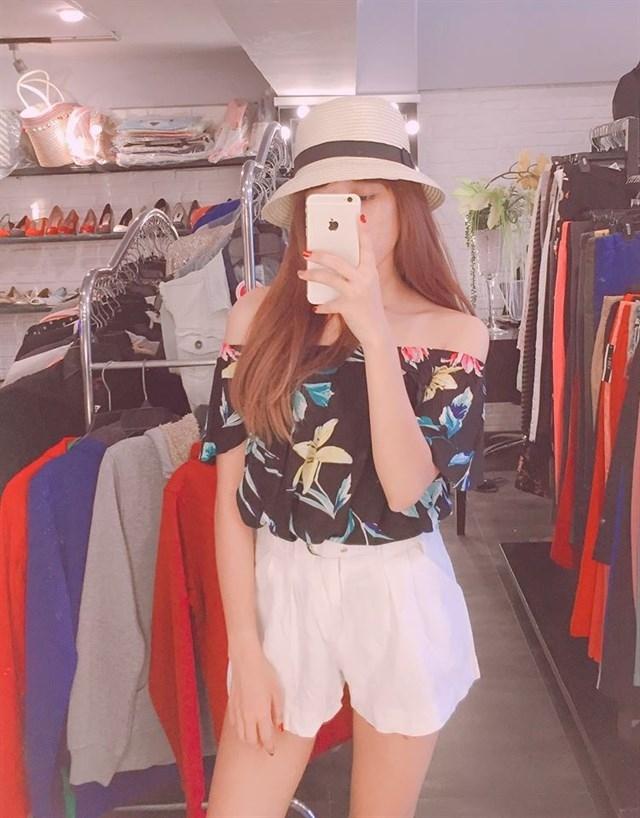 Xen Botique - địa chỉ mua mũ đi biển quen thuộc của nhiều chị em tại Hà Nội.