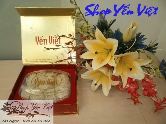 Sản phẩm yến cao cấp của shop yến Việt