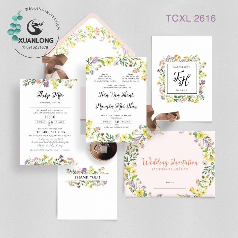 Showroom thiệp cưới Quảng Ngãi - Thiệp cưới Xuân Long