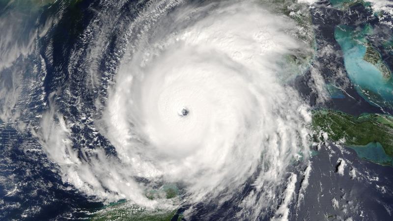 Hình ảnh cho thấy quy mô khổng lồ của cơn bão Rita.