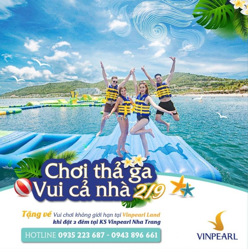 Siêu khuyến mãi kỳ nghỉ lễ 2/9/2017 tại Vinpearl Land Nha Trang