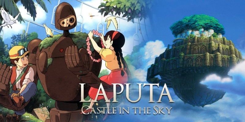 Laputa - bộ phim tình bạn, sự thân thiết và hy sinh