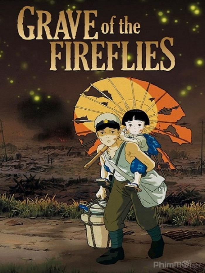 Hai anh em Seita và Setsuko trong phim