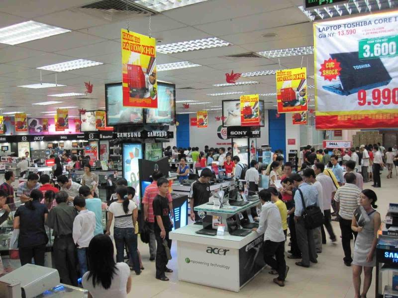 Top 10 Siêu thị điện máy - điện thoại uy tín nhất Việt Nam