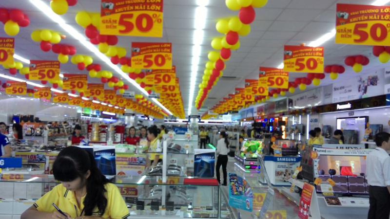 Siêu thị Điện Máy – Nội Thất Chợ Lớn mang đến cho khách hàng những tiện lợi trong việc mua sắm