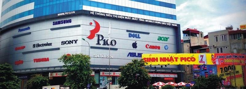 Pico được xem là siêu thị điện máy hàng đầu Hà Nội, với thời gian 10 năm có mặt ở thị trường này.