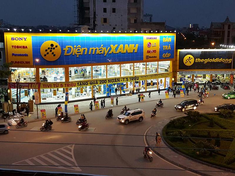Điện máy xanh Nguyễn Thị Minh Khai