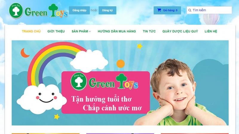 Siêu thị đồ chơi Green toys