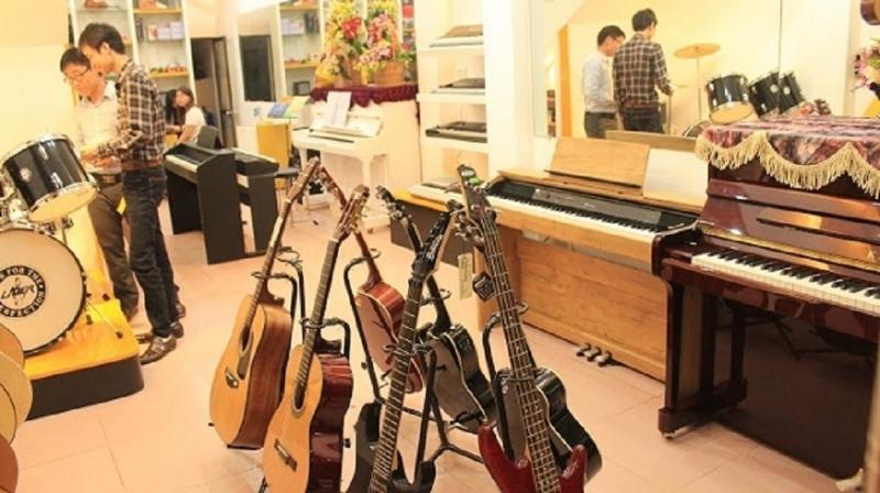 Top 9 cửa hàng bán nhạc cụ uy tín nhất ở Cần Thơ