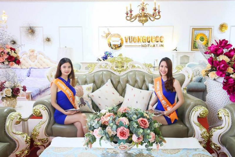 Siêu thị nội thất cổ điển cao cấp nhập khẩu vuongquocnoithat.vn