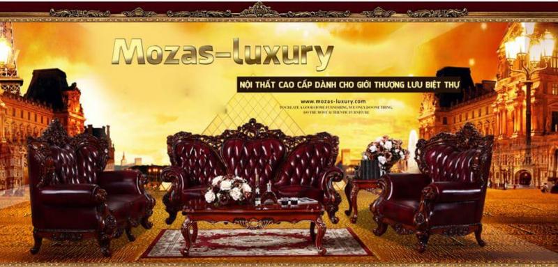 Siêu thị nội Thất cổ điển nhập khẩu Mozas-Luxury
