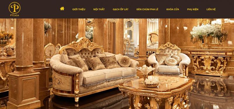 Siêu thị nội thất cổ điển nhập khẩu PT Casa