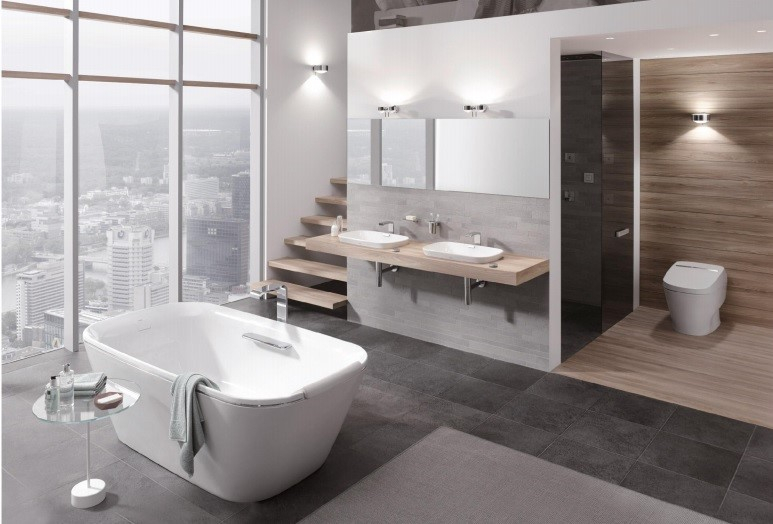 Thiết kế nội thất phòng tắm của Quang Chức