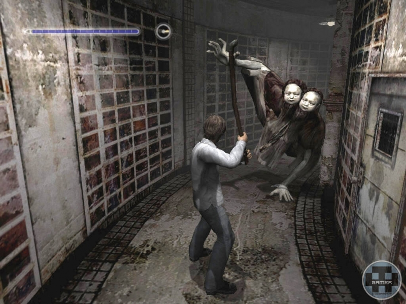 Giao diện Game Silent Hill