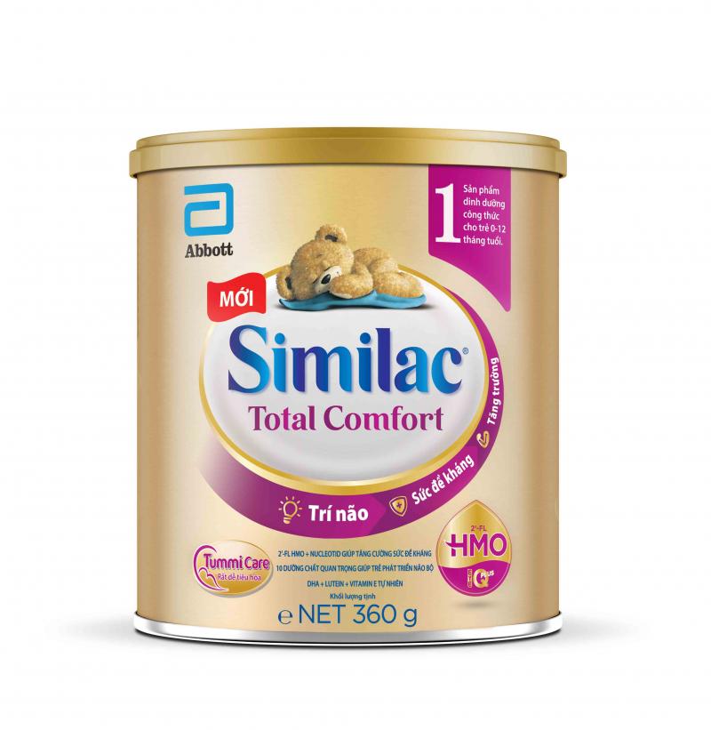 Sữa Similac Total Comfort là dòng sữa công thức cho trẻ bị rối loạn tiêu hóa, tiêu chảy, táo bón và khó hấp thu đường lactose