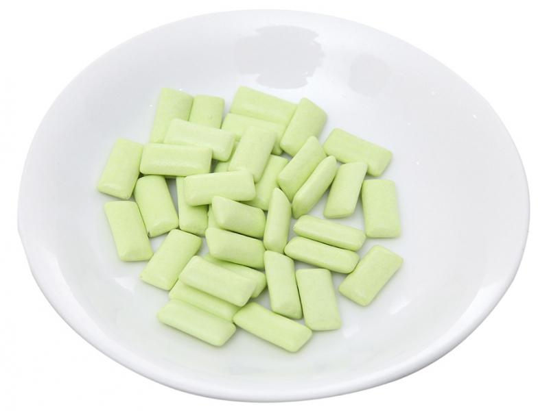 Sản phẩm với hương vị đặc trưng của bạc hà, giúp hơi thở luôn thơm mát, khử mùi hôi miệng