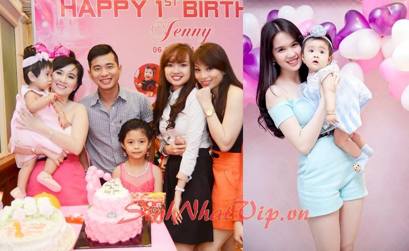 Sinh nhật bé Zeny (cháu người đẹp Ngọc Trinh) do sinh nhật Vui thực hiện