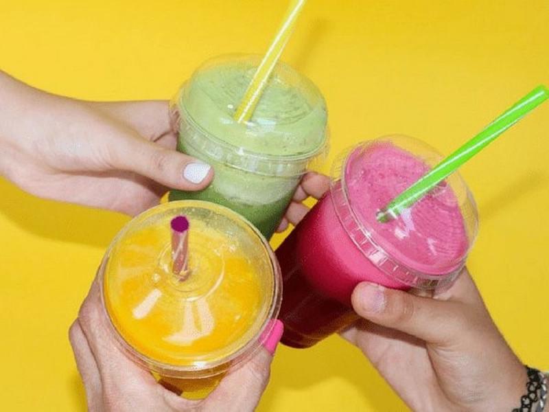 Những ly nước hoa quả nhiều màu sắc hấp dẫn