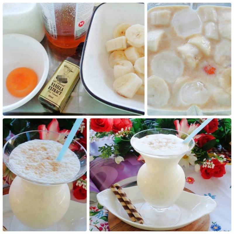 Sinh tố chuối trứng