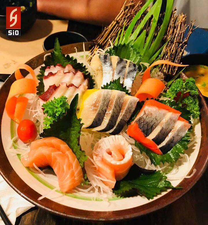 Những món ăn ở Sio Sushi mang những màu sắc, hương vị đặc trưng của món ăn Nhật, đây là những trải nghiệm thú vị