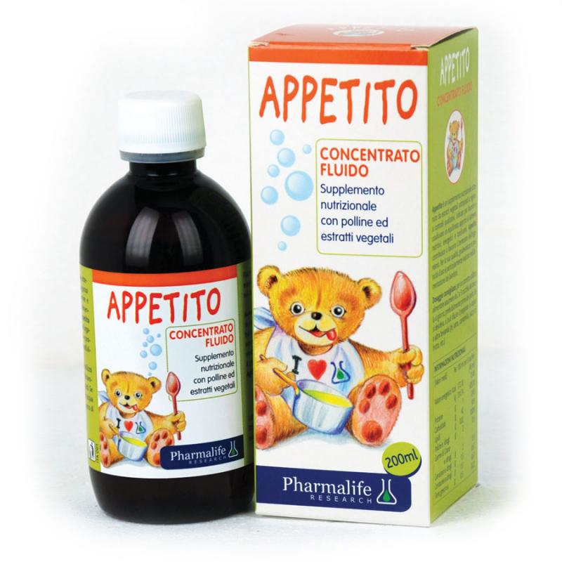 Siro Appetito Bimbi ăn ngon 3 tác động 200 ml
