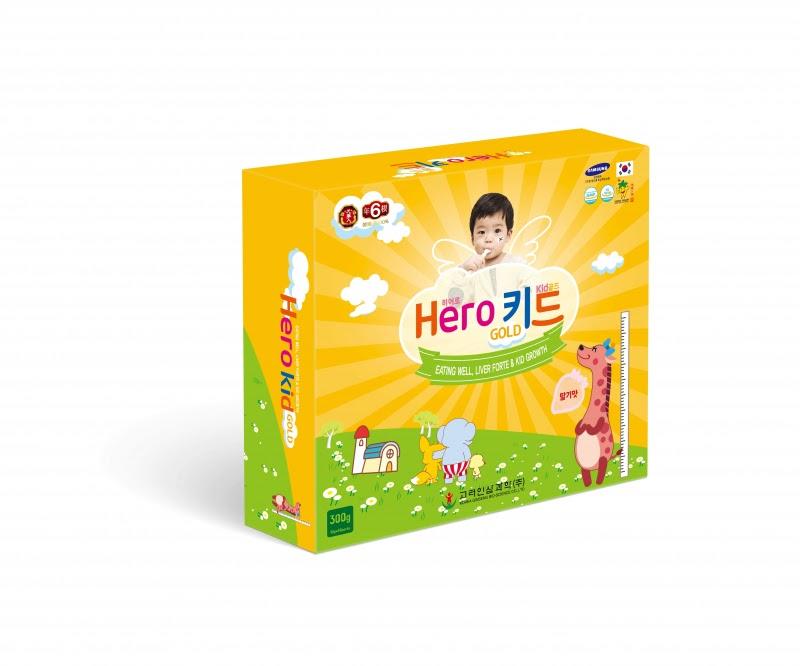 Thực phẩm bảo vệ sức khỏe Herokid Gold