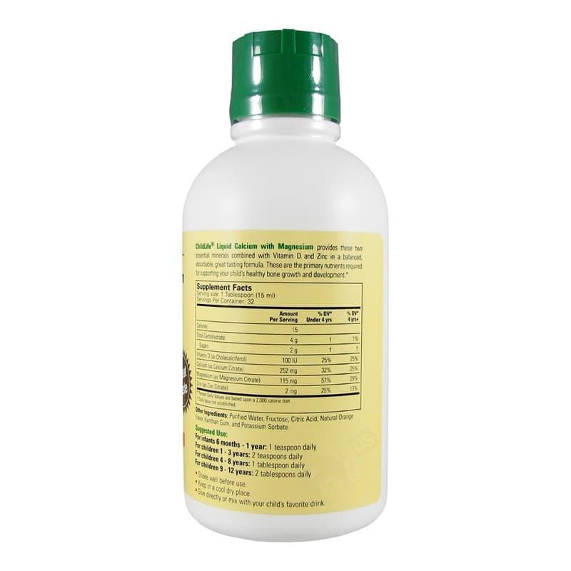ChildLife Calcium&Magnesium