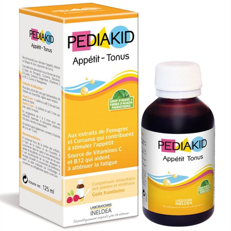 PediaKid Appetit Tonus là sản phẩm bổ sung vitamin cho trẻ em hỗ trợ trẻ ăn ngon, giúp tăng cân