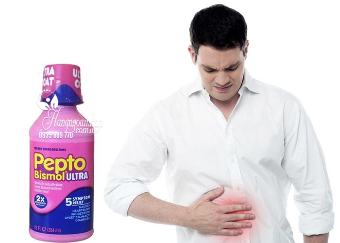 Thực phẩm chức năng Siro chuyên trị tiêu hóa dạ dày Pepto Bismol 473ml của Mỹ