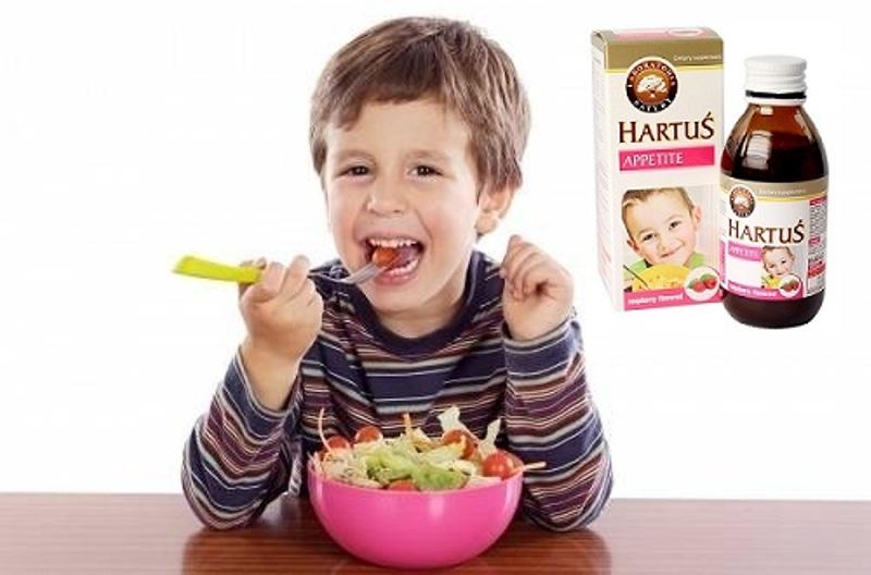 Siro Hartus Appetite - Cải Thiện Chứng Biếng Ăn Của Trẻ, 150ml