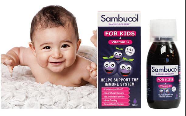 Siro Sambucol For Kids