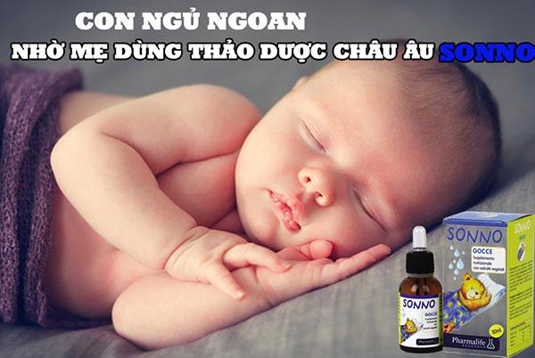 Cải thiện giấc ngủ cho trẻ, giúp trẻ đi vào giấc ngủ một cách tự nhiên, ngon và sâu giấc hơn