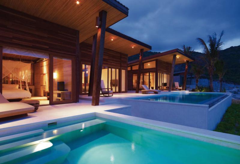 Các khu nhà gỗ tại Six Senses Côn Đảo