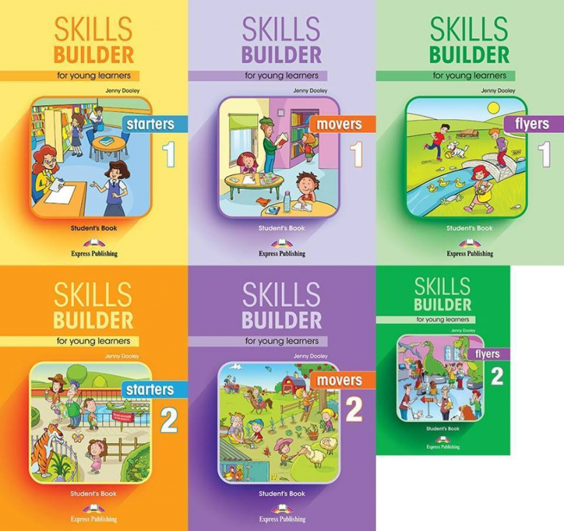 Skill builder for young learners Starters - Movers - Flyers