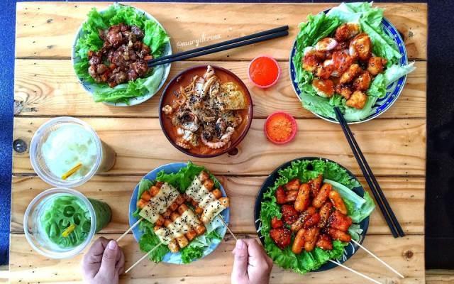 Hấp dẫn với Tokbokki và những món ăn Hàn ở nhà hàng