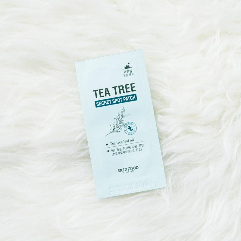 Skinfood Tea Tree Secret Spot Patch là phương pháp trị mụn vừa hiệu quả vừa có giá trị thẩm mĩ