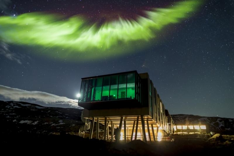 Sky Bar Northern Light Bar, Iceland