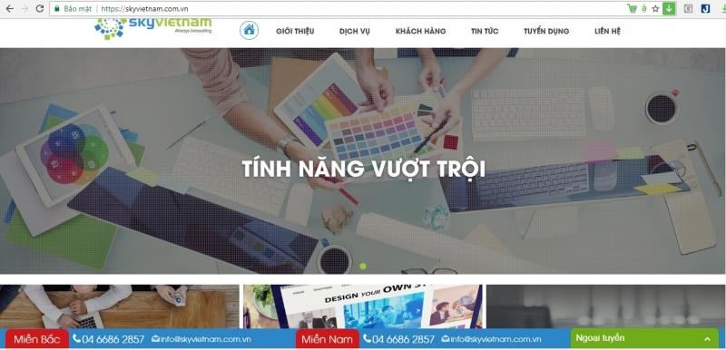 Website của Sky Việt Nam