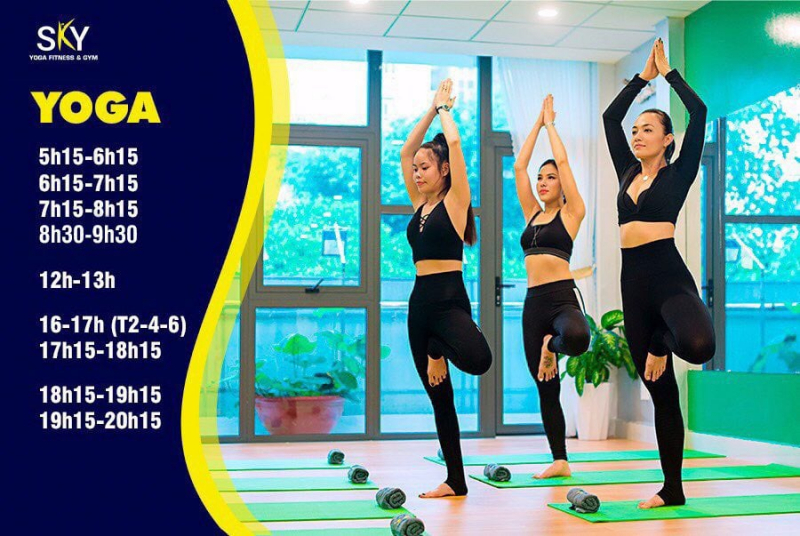 SKY Yoga Fitness Dance & Gym Quận 8