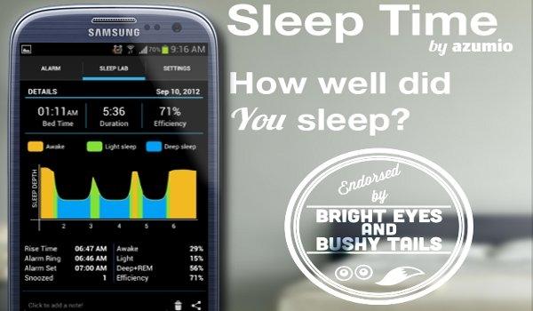Sleep As Android - Kiểm tra chất lượng giấc ngủ của bạn