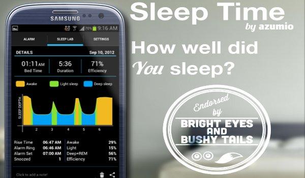 Ứng dụng theo dõi giấc ngủ Sleep Time