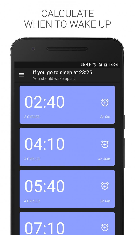 Ứng dụng theo dõi giấc ngủ Sleep Time - Cycle Alarm Timer