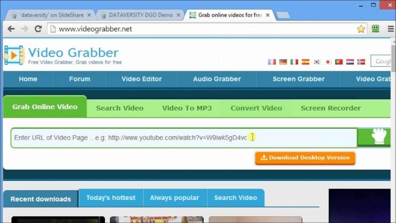 Giao diện của Slideshare.net vô cùng đẹp mắt