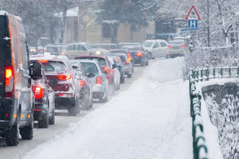 Giao thông vào mùa đông tại Slovakia