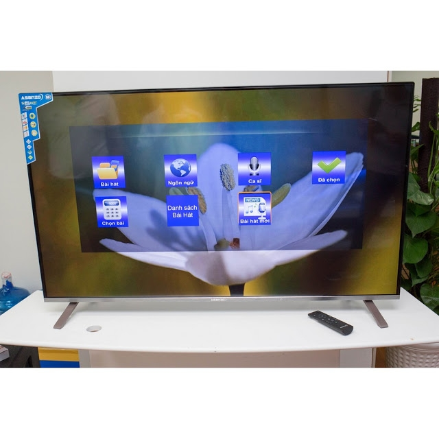 Smart Tivi 4K Asanzo 50 inch 50U8