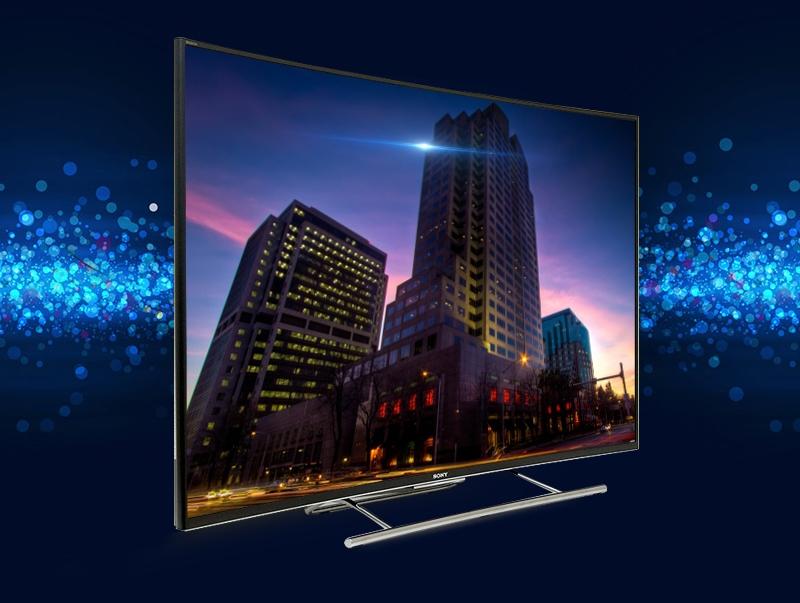 Smart tivi curved Sony KD 55S8500C 55 inch với thiết kế màn hình cong cùng viền màn hình nhỏ, đầy ấn tượng và cuốn hút